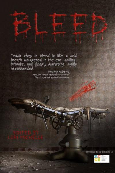"Anthologies: Bleed (featuring ""Mr Expendable"" by Peter N. Dudar)"